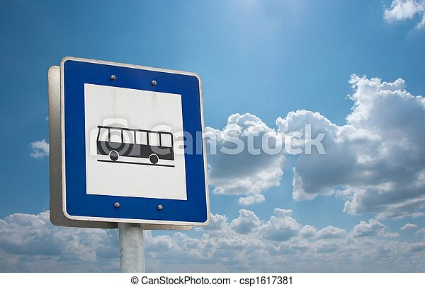 Bus stop - csp1617381