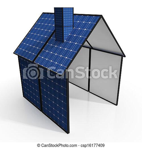 Photographies de solaire panneau maison spectacles for Maison a energie renouvelable