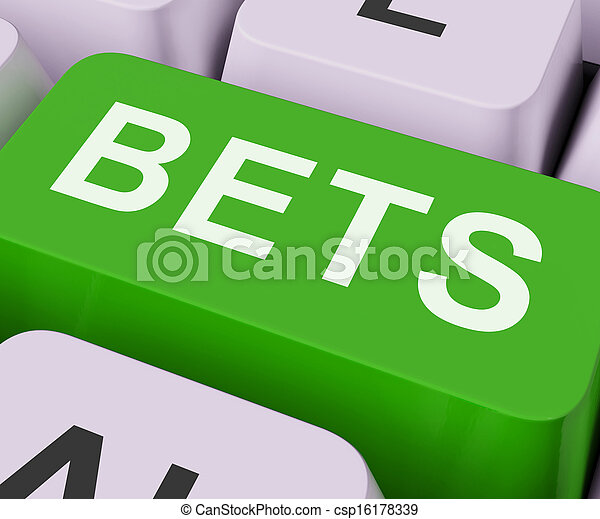 Bets Key Shows Online Or Internet Gambling - csp16178339