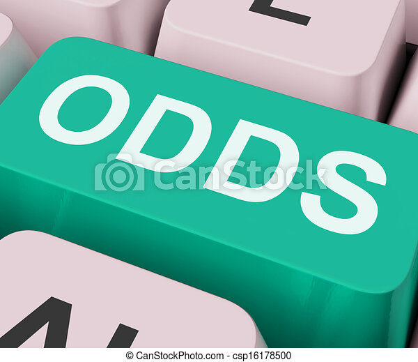 Odds Key Shows Online Chance Or Gambling - csp16178500