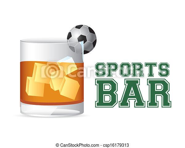 Vector Clip Art Of Sports Bar Esports Bar Design Over