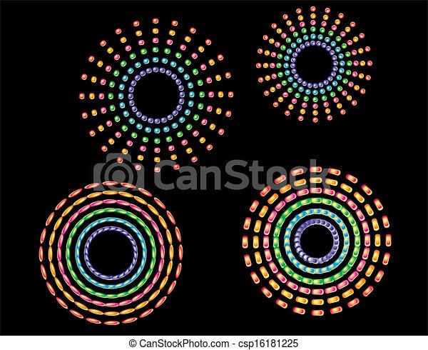 web button line vector art - csp16181225
