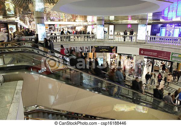 underground shopping center Okhotny Ryad
