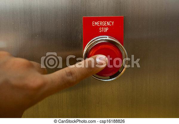 Emergency stop - csp16188826