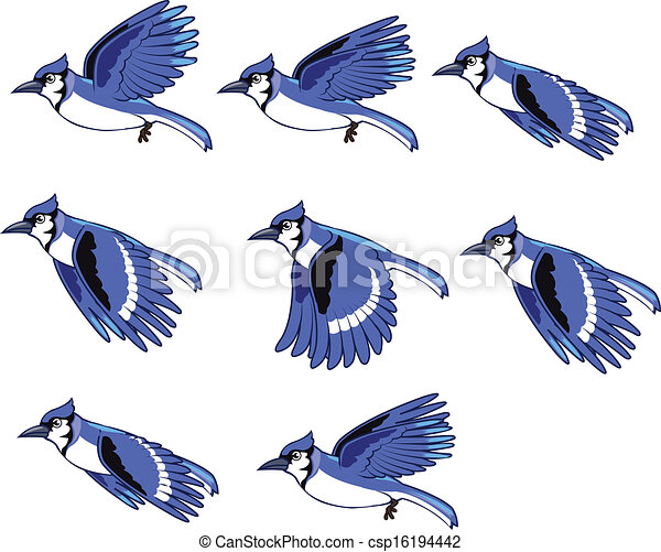 flying bird clipart black and white