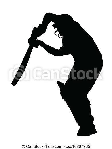 Batsman Vector Clip Art EPS Images. 535 Batsman clipart vector ...