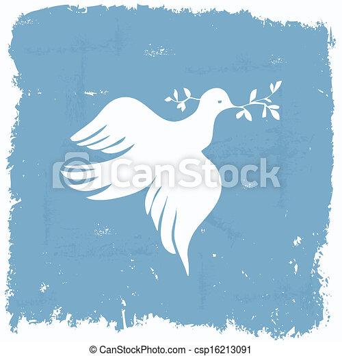 Peace dove - csp16213091