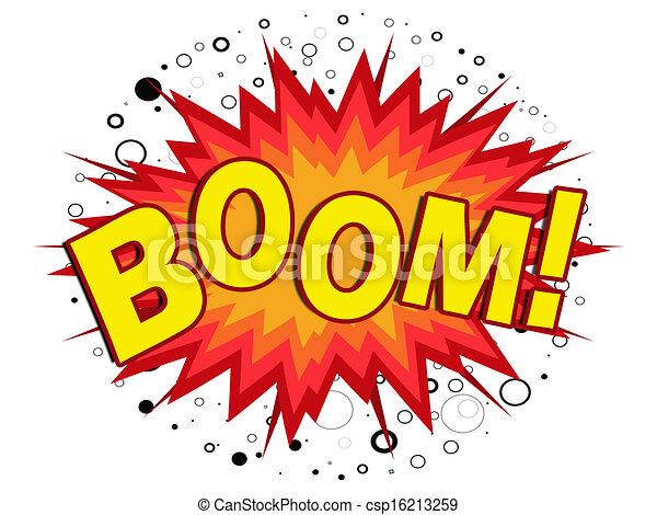 Illustrations de boom jaune dessin anim boom - Boom dessin anime ...