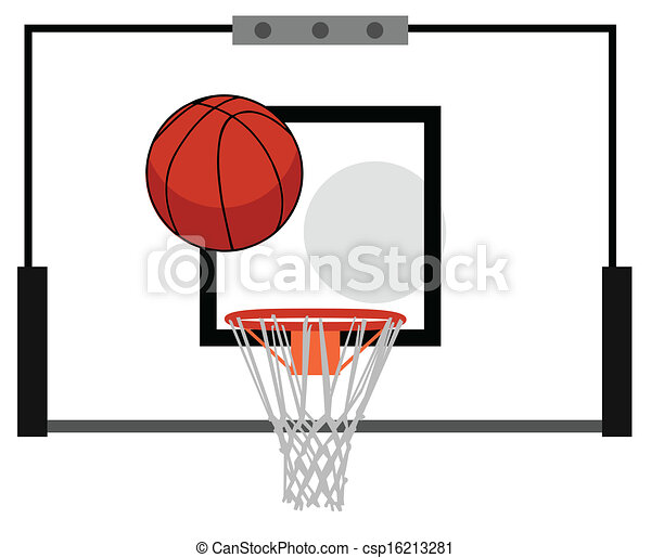 How To Draw A Basketball Hoop | Basketball Scores