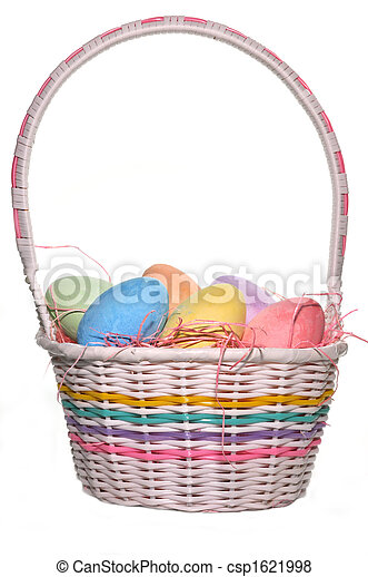 Easter Basket - csp1621998
