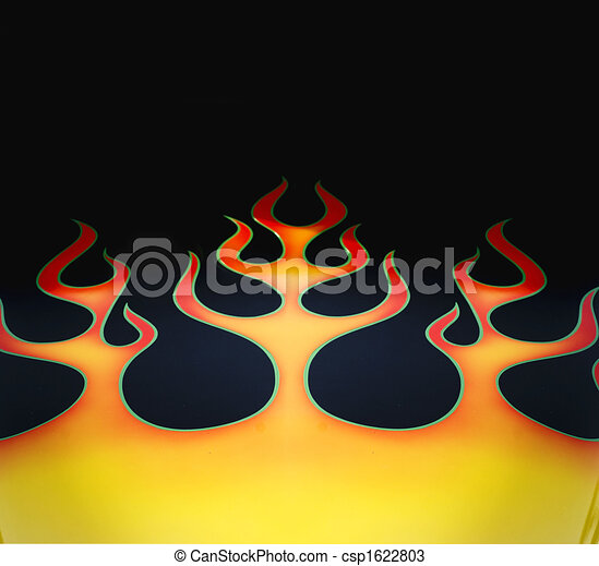 Flame graphic - csp1622803