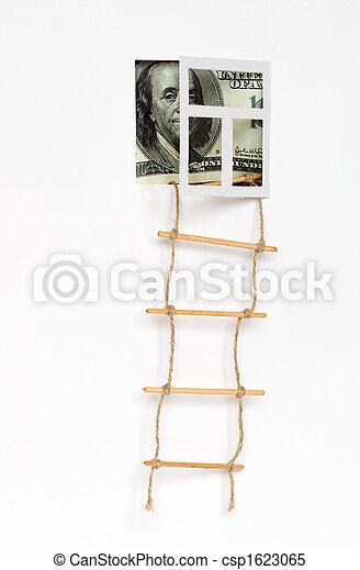 Ladder to wealth - csp1623065