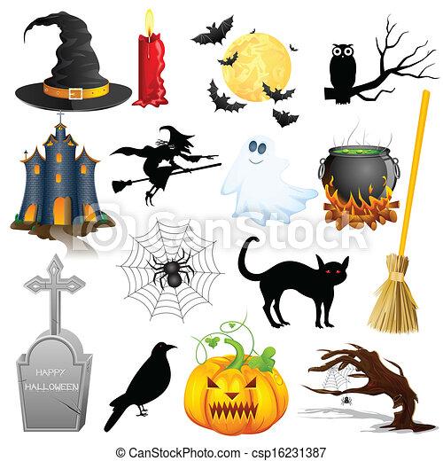 Halloween Object - csp16231387