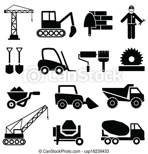 Industrial Machinery Icons