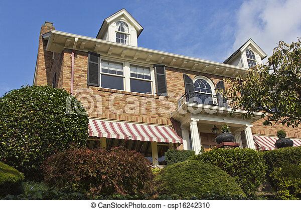 Residential house Seattle WA. - csp16242310