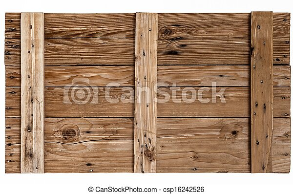 background Brown color nature  pattern detail of pine wood decorative old box wall texture furniture surface - csp16242526