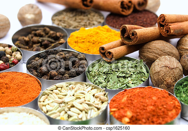 Colorful spices - csp1625160
