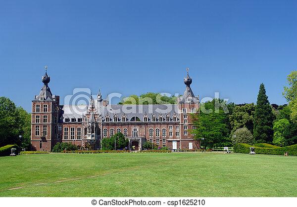 Chateau Arenbergh, Belgium - csp1625210