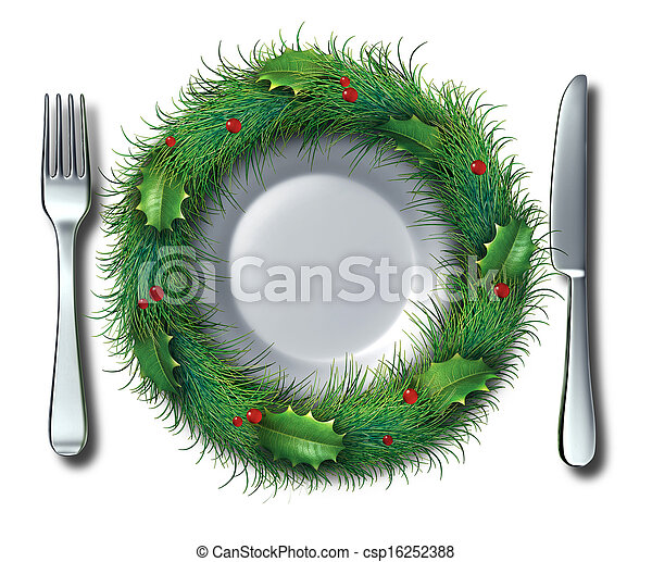 Holiday Food - csp16252388
