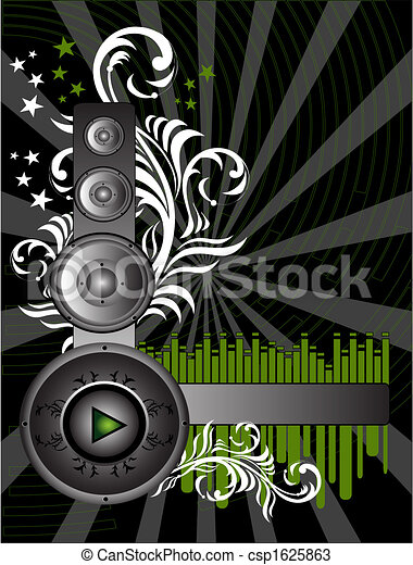 Music Background - csp1625863