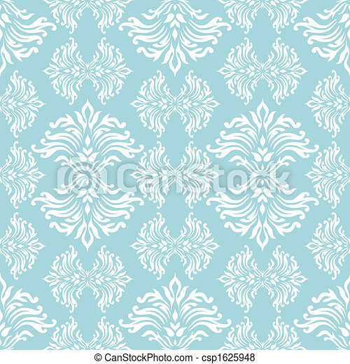 cyan floral curl - csp1625948
