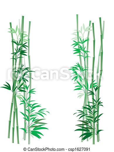 Archivio illustrazioni bamb boschetto folto alberi for Cannette di bambu prezzo