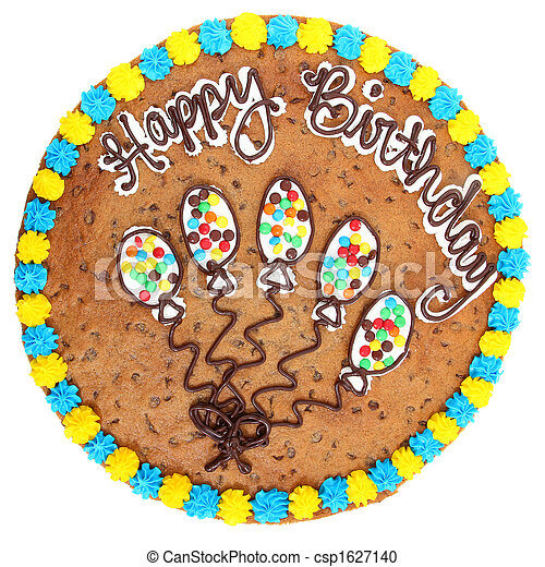 Cookie Cake Clip Art : Stock Photography of Cookie Cake - Large 18 inch cookie ...
