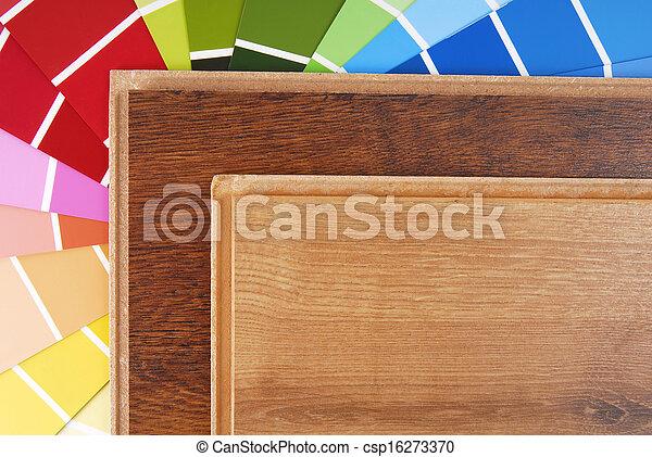 Laminat farben tabelle  Bilder von farbe, laminat, tabelle - laminat, und, farbe diagramm ...