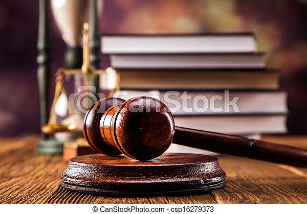 Law concept - csp16279373