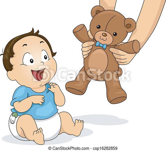 Teddy Bear Boy - csp16282859