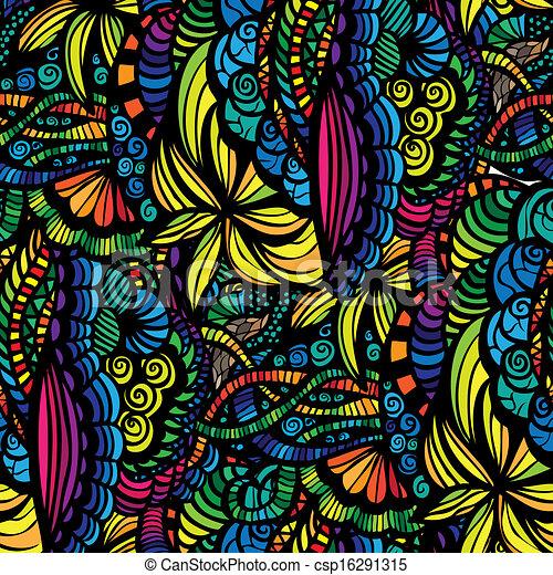 Vector - mosaico, vector, seamless, patrón - stock de ilustracion ...