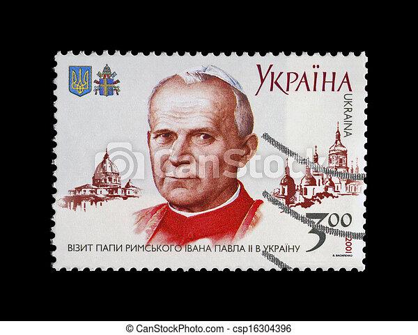Papa Rimsky Iowan Pavel II, religion - csp16304396