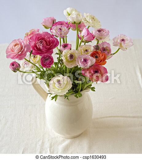photos de bouquet renoncules bouquet de renoncule. Black Bedroom Furniture Sets. Home Design Ideas