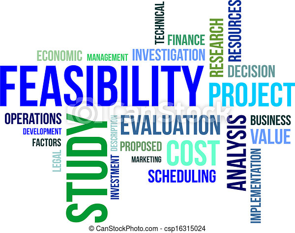 - word cloud - feasibility study - stock illustration, royalty free ...