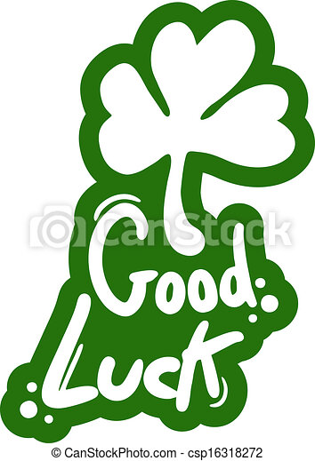 Vectors Illustration of Good luck - Creative design of good luck ...