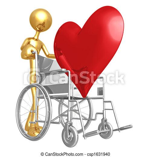 Heart Health Wheelchair - csp1631940