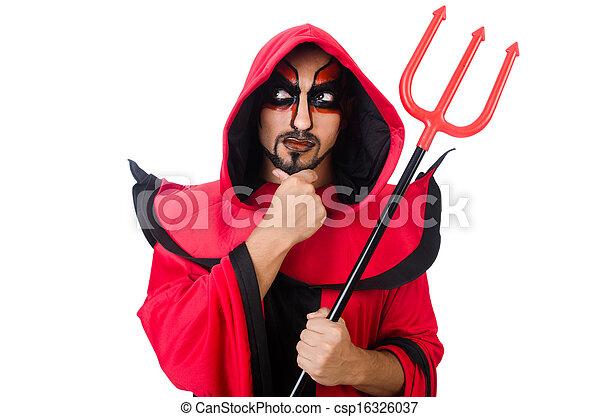 stock de fotos diablo traje rojo hombre