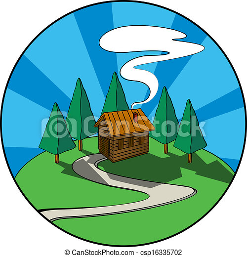 Cabin Clipart and Stock Illustrations. 9,321 Cabin vector EPS ...