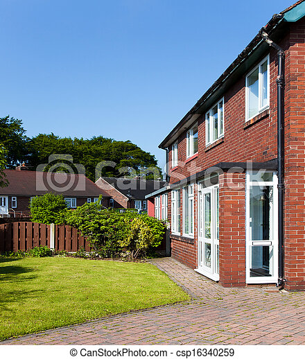 Residential house,uk - csp16340259