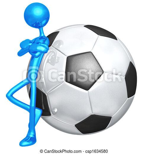 Attitude Soccer Football - csp1634580