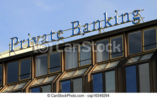 Private banking - csp16349294