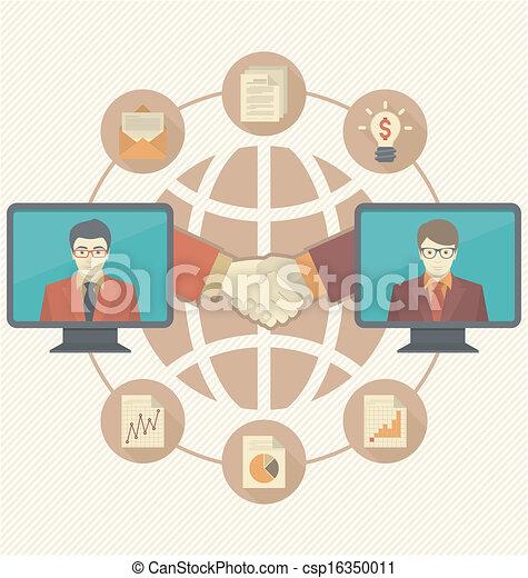Business Cooperation Concept  - csp16350011