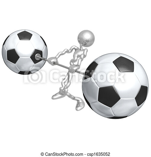 Soccer Football Weight Training - csp1635052