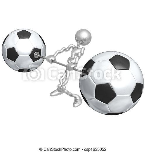 Soccer Football Weight Training - csp1635052