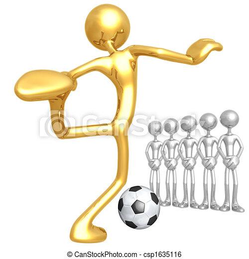 Soccer Football Penalty Kick - csp1635116