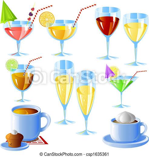 Drinks set - csp1635361