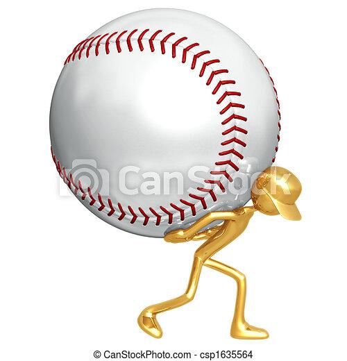 Baseball Atlas - csp1635564
