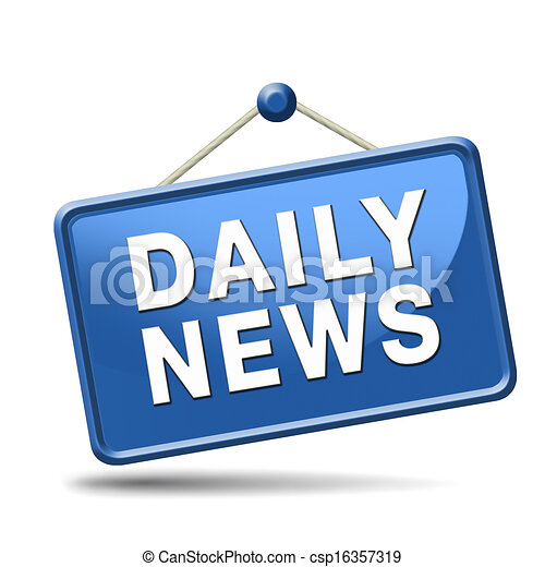 Clipart of daily news icon - latest daily hot news ...