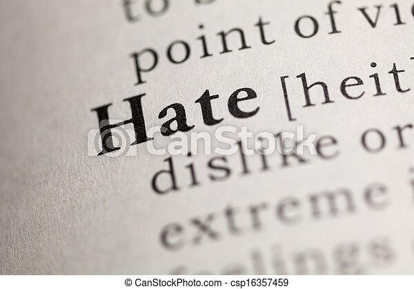 Hate - csp16357459