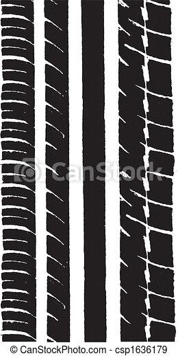 Car Tyre 1 - csp1636179